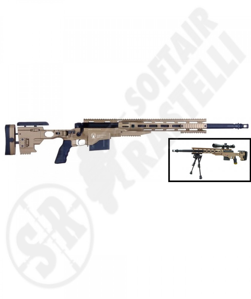 Sniper MS338 tan full metal (ares)