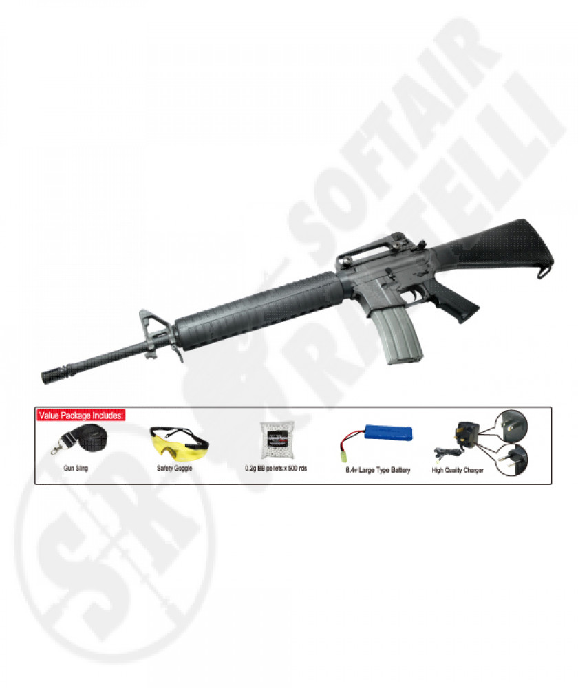 Fucile M16 A4 (classic army) sport line completo
