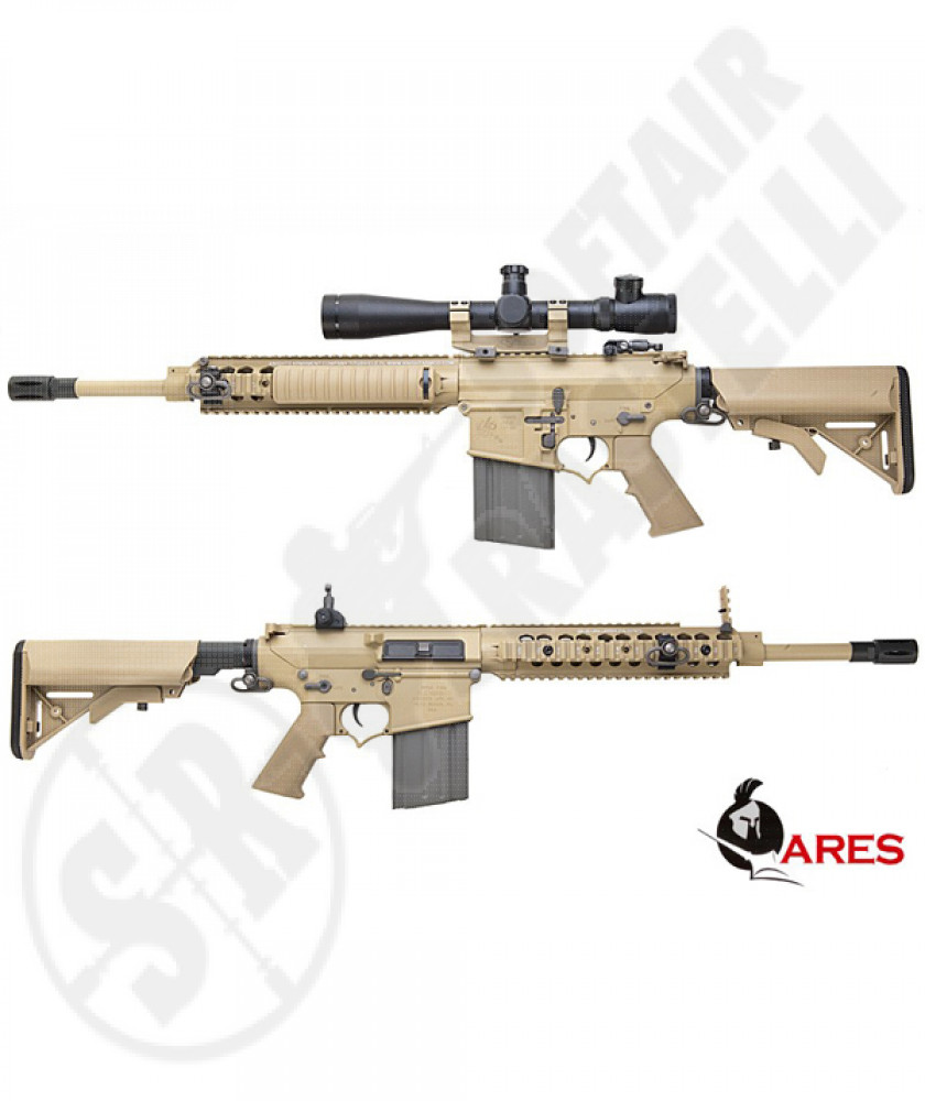 SR 25 cqb ris tan full metal ares