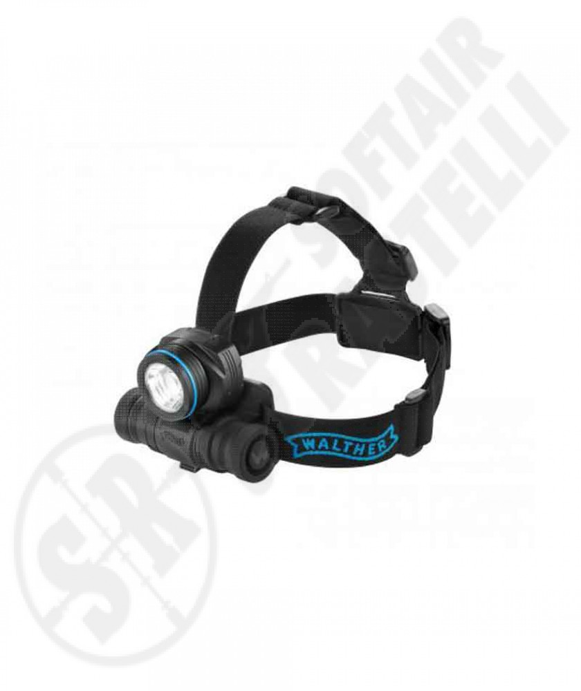 Torcia frontale al led HL17 405 LUMENS Walther