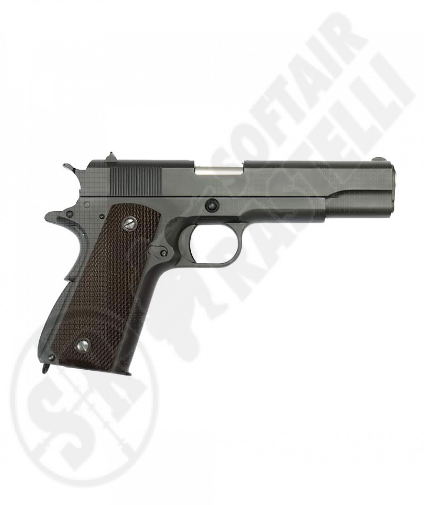 Pistola 1911 Special Nera Full Metal A Gas