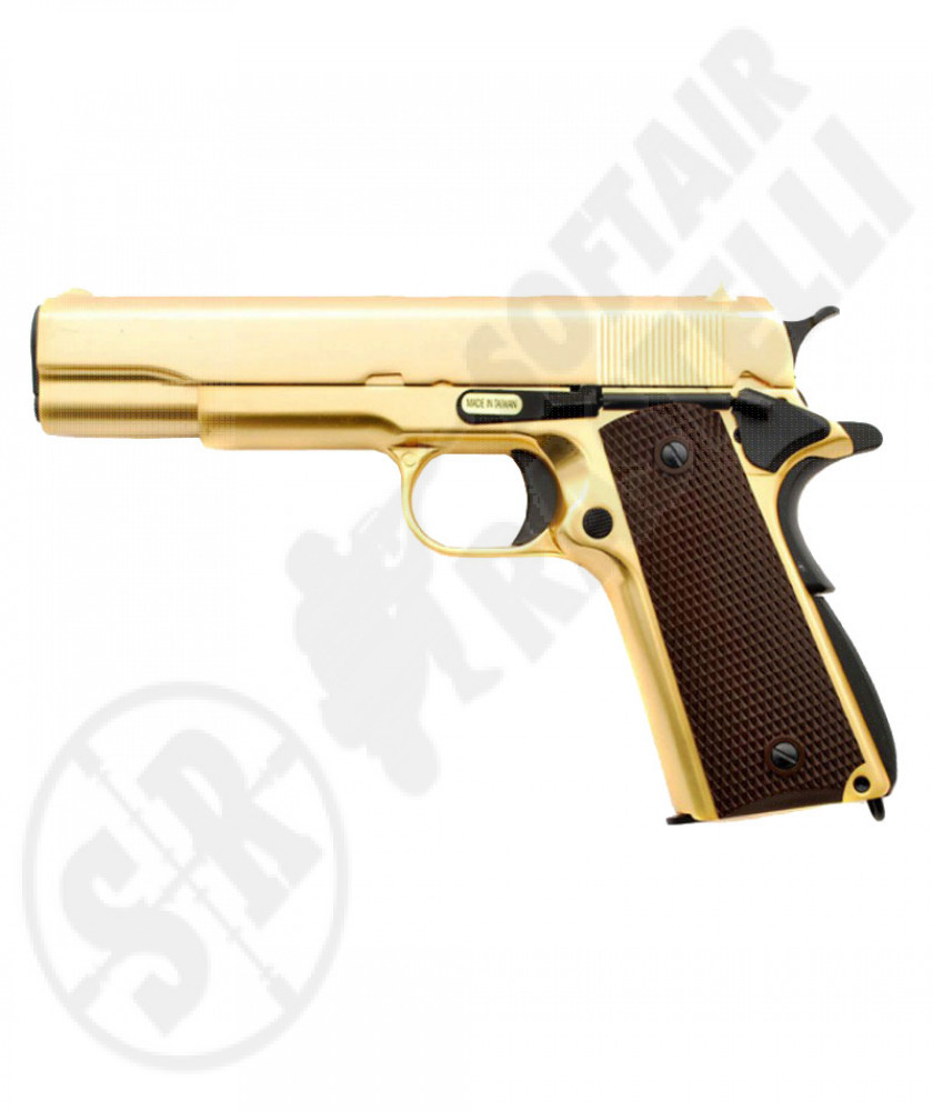 Pistola 1911 Special gold full metal a gas