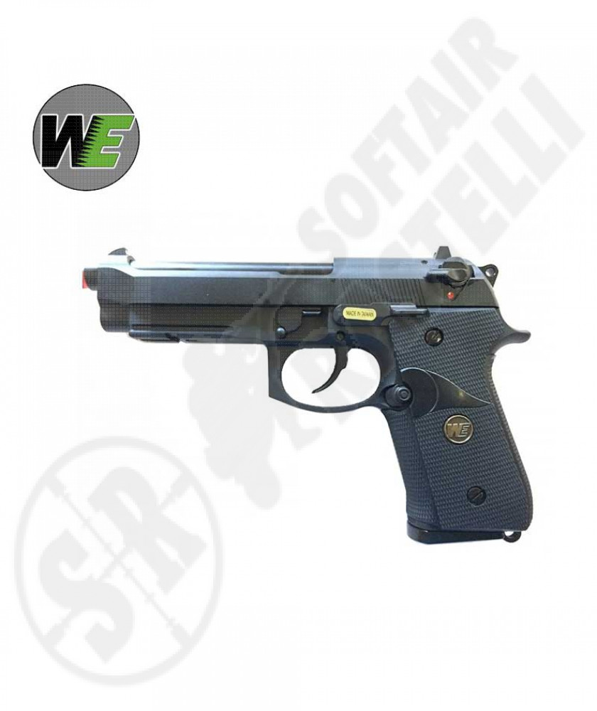 Pistola Beretta M92 Blowback  CO2 full metal - WE