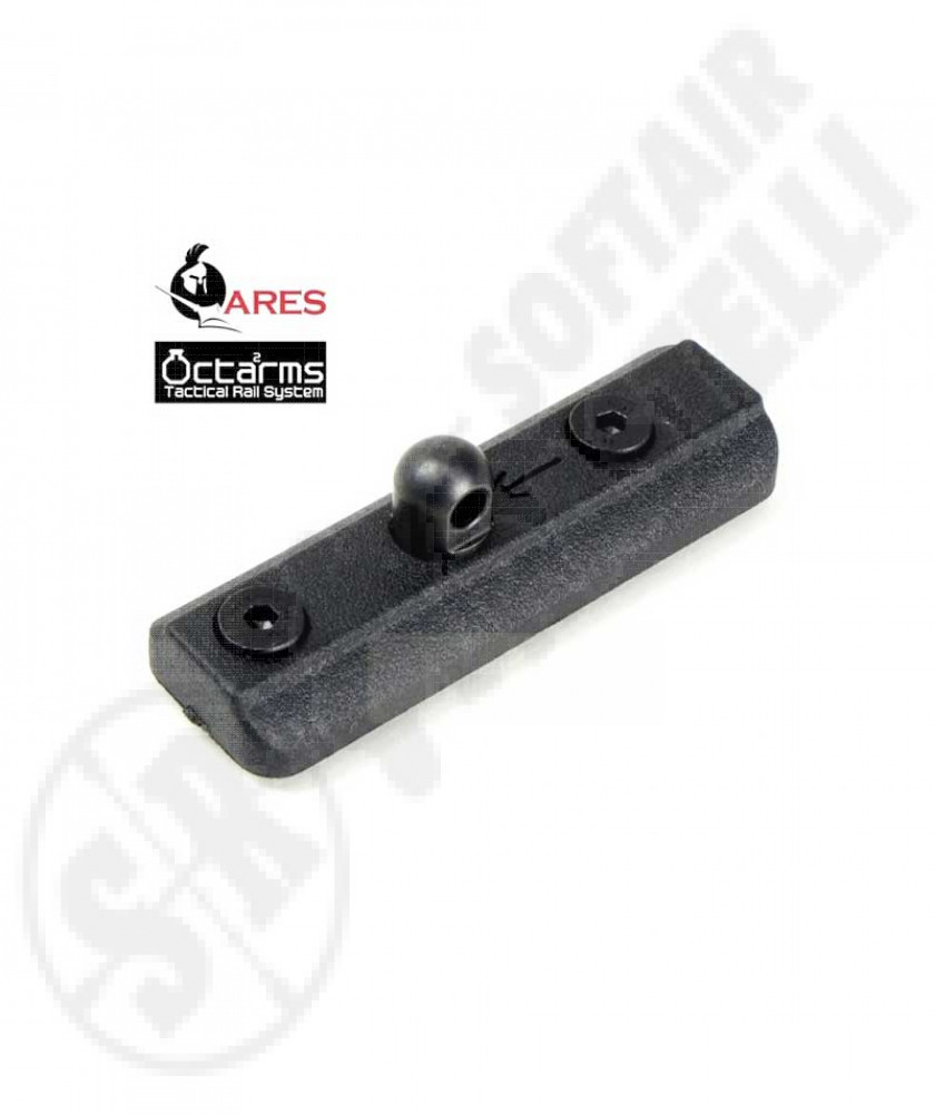 Slitta - Mount per Attacco Bipiede Sistema KEYMOD by ARES
