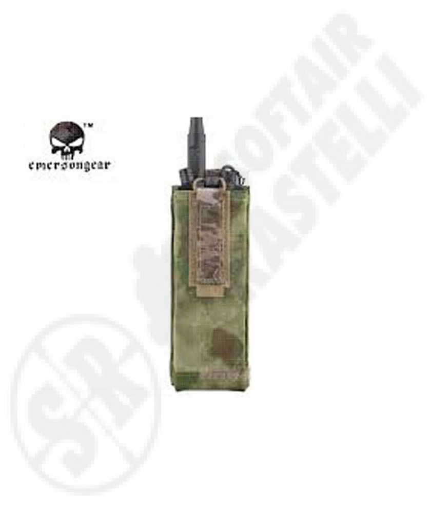 Porta radio tattico ATACS GREEN emerson