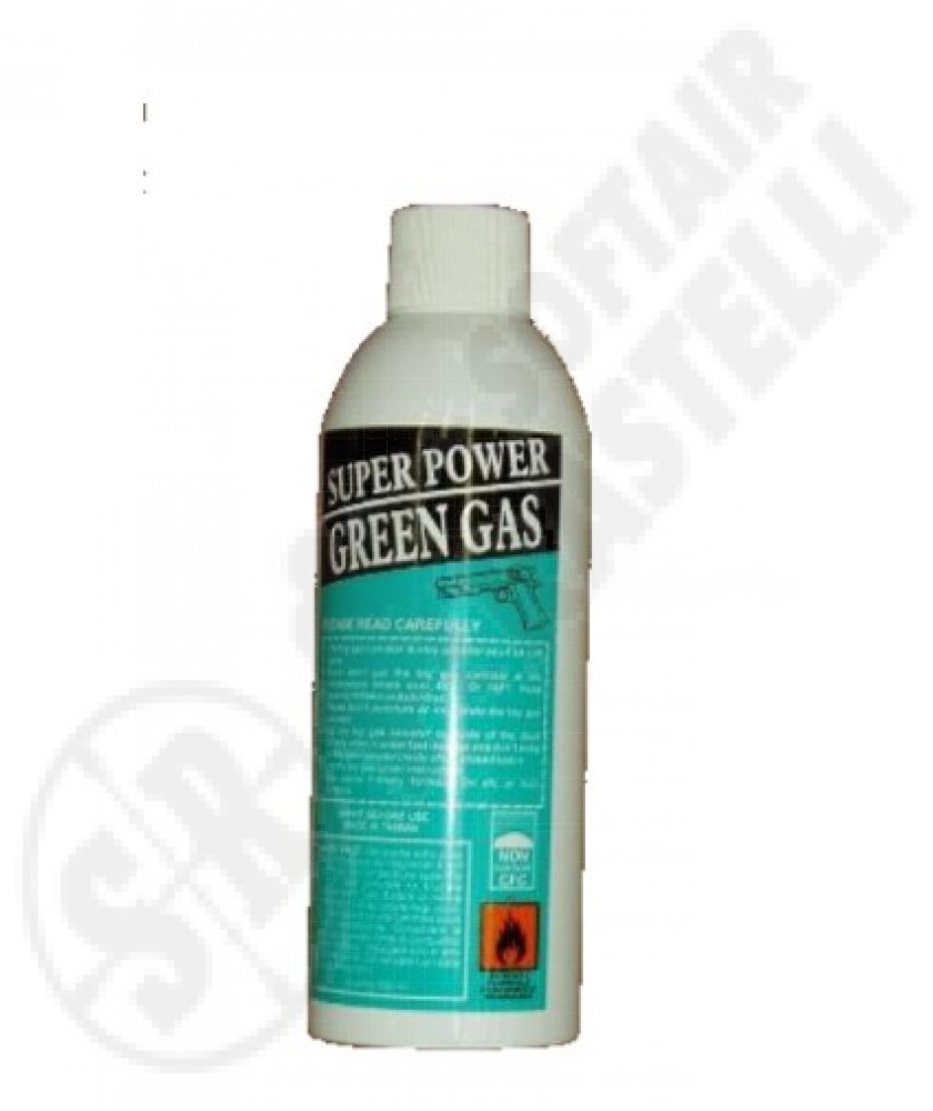 Green gas 600 ml super Power